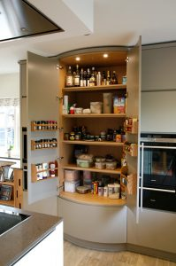 lots of storage in the main cupboard