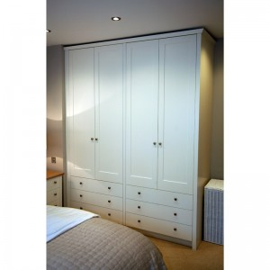 bespoke bedroom wardrobes by Mark Williamson Furniture