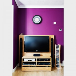 One off TV cabinet by Mark Williamson Furniture