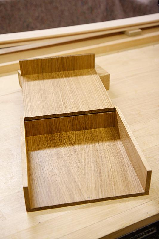 Oak photo box by Mark Williamson