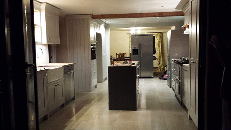 Bespoke kitchen by Mark Williamson Furniture - Buckinghamshire