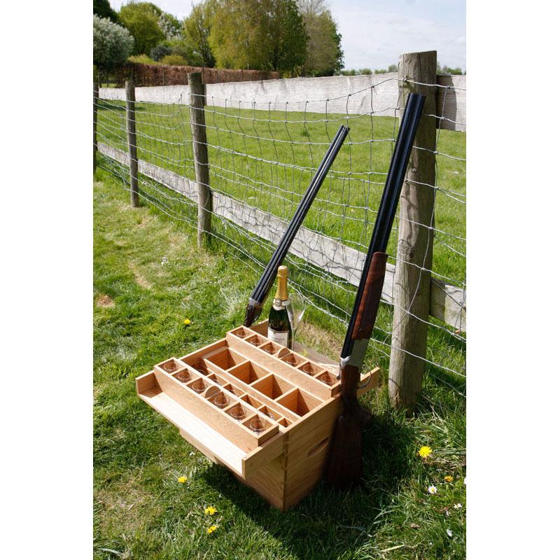 bespoke oak hunting box - Mark Williamson Furniture