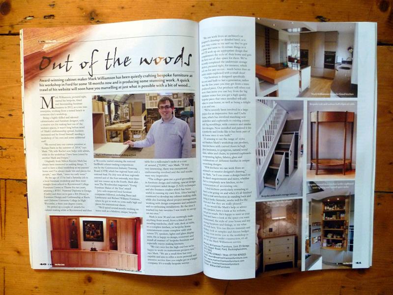 Mark Williamson bespoke furniture and kitchens