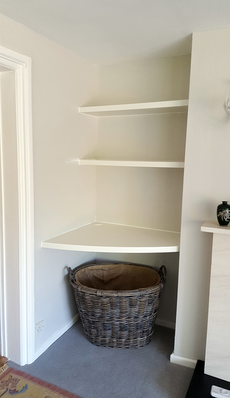 bespoke shelving Bucks
