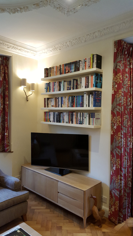 bespoke shelves Gerrards Cross