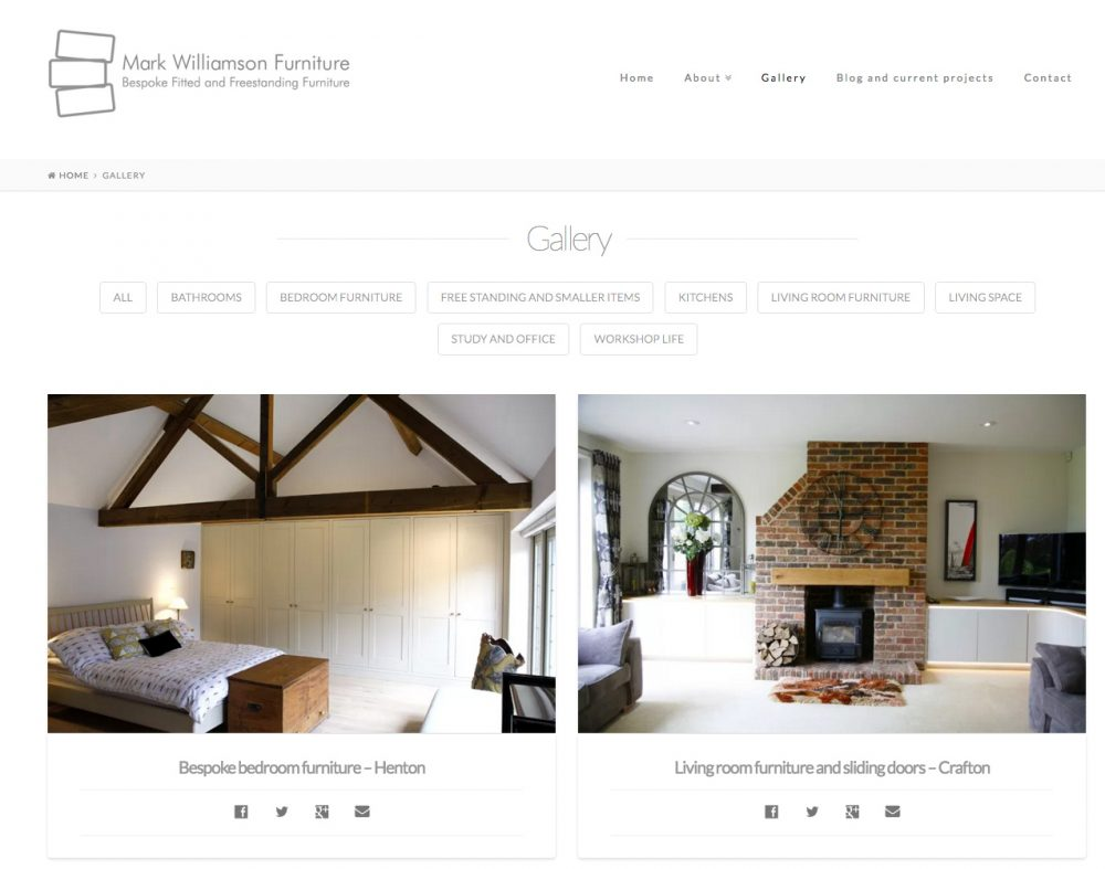 Mark Williamson Furniture - photo gallery