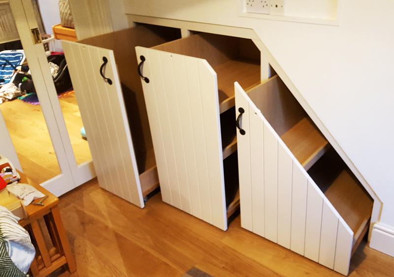 Under stairs storage solutions Bucks