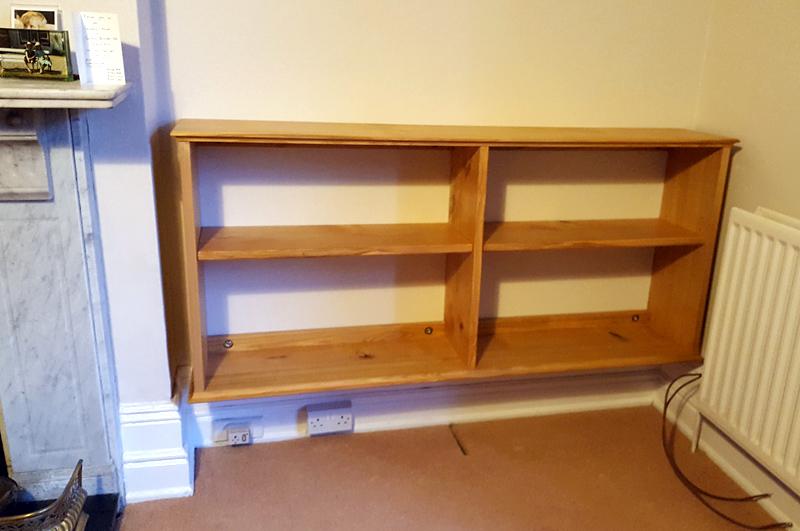 custom made shelves Bucks