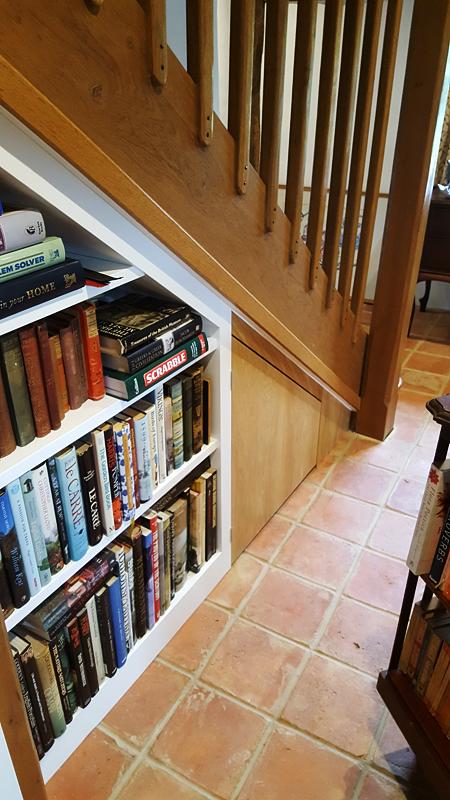 Custom under stairs storage UK