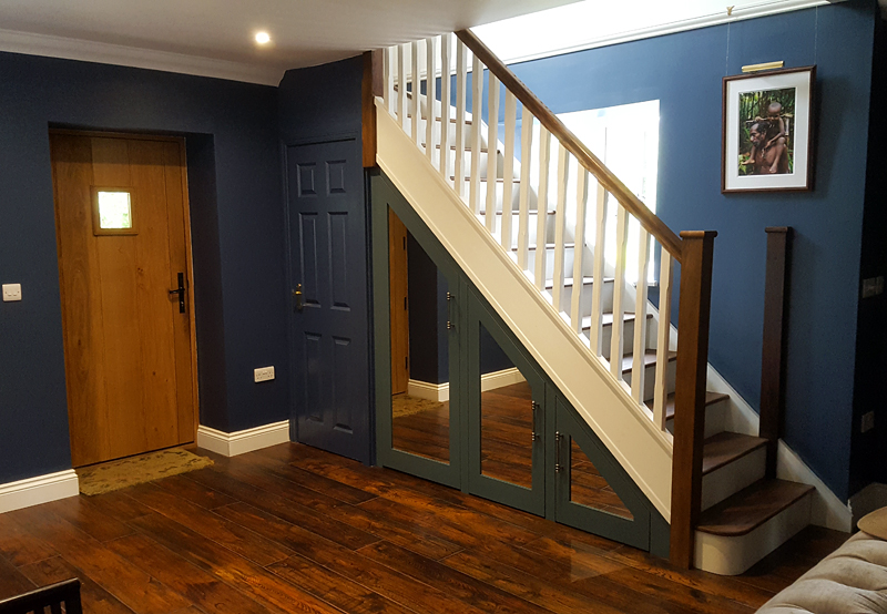 Bespoke staircase Stone Bucks