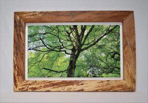 Frame in Oak - handmade Christmas present