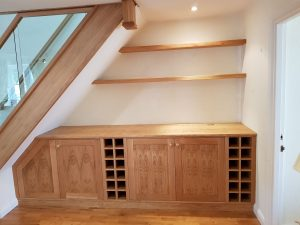 Harking under stairs storage